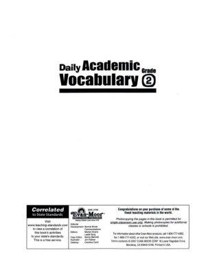 Daily Academic Vocabulary 2 (2)