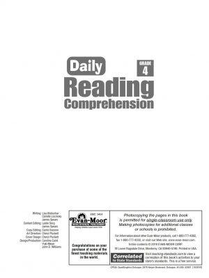 Daily Reading Comprehension Grade 4_001