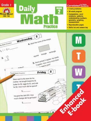 Daily Math Practice Grade 2 - Evan Moor