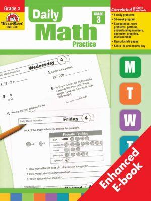 [Sách] Daily Math Practice Grade 3 - Evan Moor