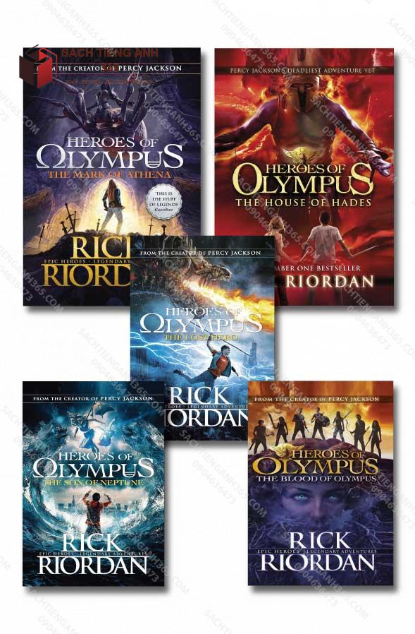 Heroes Of Olympus All Cover