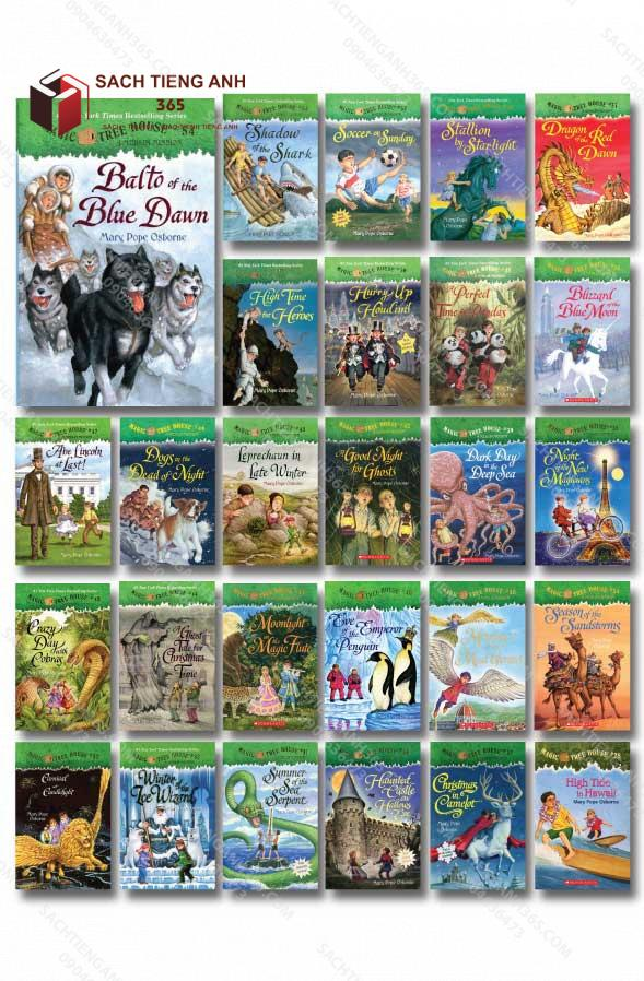 Magic Tree House (28 54) All Cover