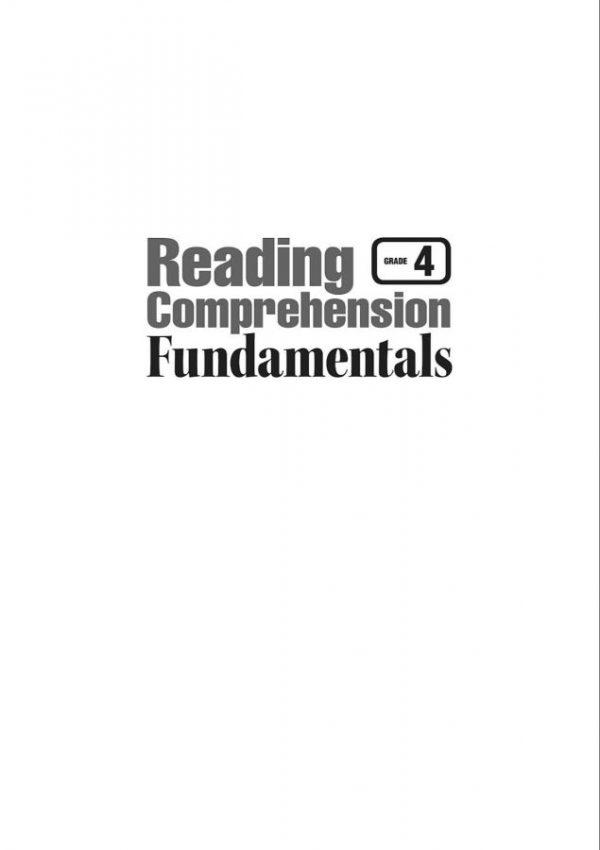 Reading Comprehension Fundamentals 4 (2)