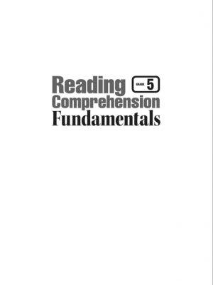 Reading Comprehension Fundamentals 5 (2)