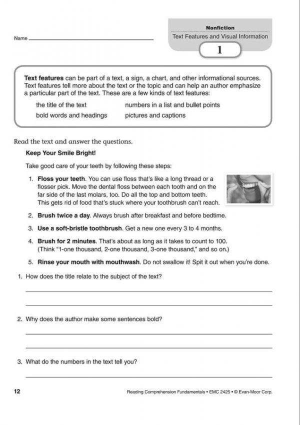 Reading Comprehension Fundamentals 5 (5)