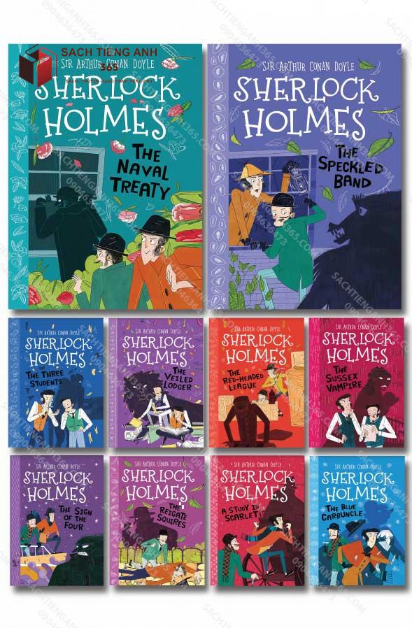 Shelock Holmes All Cover