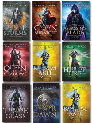 Throne Of Glass All Cover