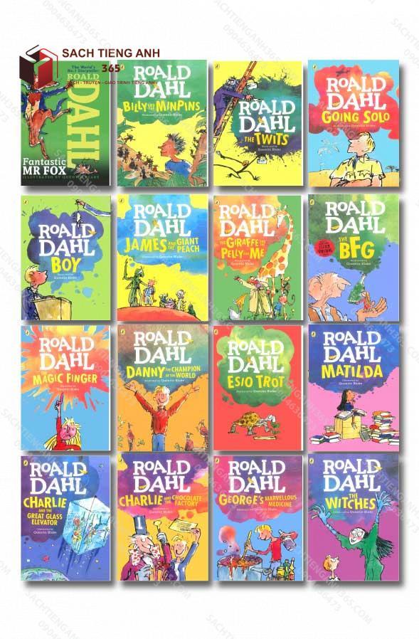Roald Dahl All Cover