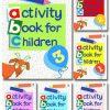 Activity Book For Children Full Cover 01