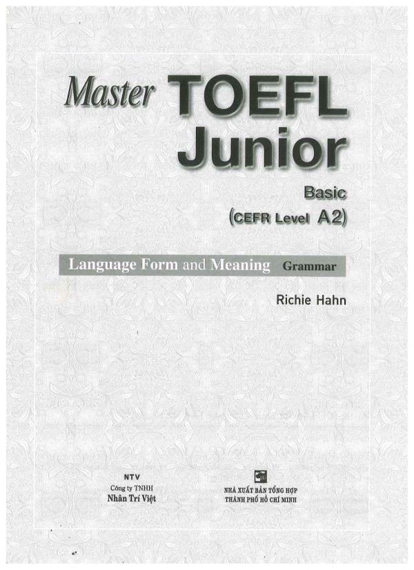 toefl junior_basic_language_001