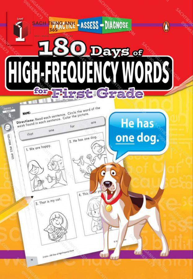 180 Day High Frequency Words 1