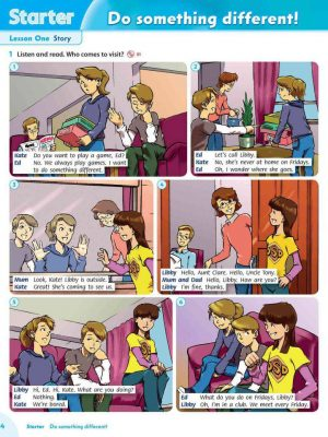 Family and Friends 5 Class Book 2nd full_004