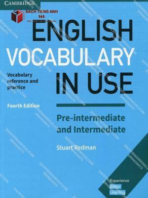 English Vocabulary In Use Pre Int And Intermediate